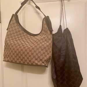 Vintage Gucci Bag, Never Carried with duster bag.